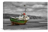 Celtic Lady Abersoch, Canvas Print