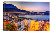 Images of Kalkan, Canvas Print