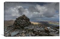 Top of the Old Man of Coniston, Canvas Print