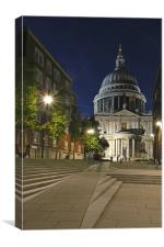 St Paul''s Cathedral, Canvas Print