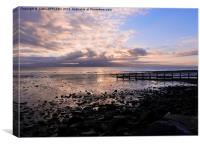 AUTUMN DAWN OVER TREMADOG BAY, Canvas Print