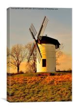 ASHTON WINDMILL CHAPEL ALLERTON, Canvas Print