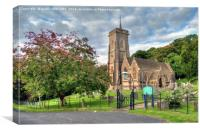 St Etheldreda West Quantoxhead, Canvas Print
