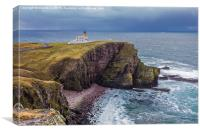 Stoer Lighthouse, Canvas Print