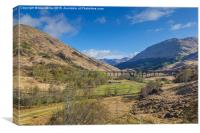 Glenfinnan, Canvas Print