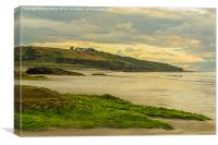 West Beach Lossiemouth, Canvas Print