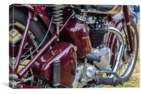 Motorbike Engine, Canvas Print
