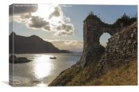 Strome Castle, Canvas Print