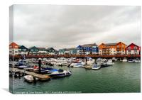 Exmouth Harbour, Canvas Print