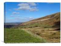 Brecon Mountains, Canvas Print