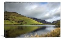 Tal-y-llyn Lake Mid Wales, Canvas Print