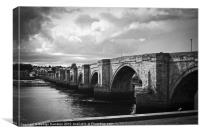 Old Bridge, Canvas Print