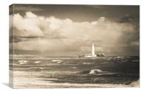 Memories of Whitley Bay, Canvas Print