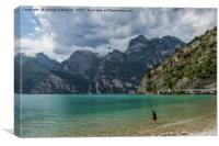 Lake Garda, Canvas Print