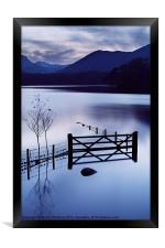 Evening at Derwent Water, Framed Print