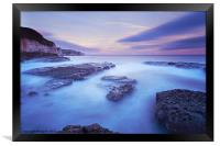 Thornwick Bay Sunset, Framed Print