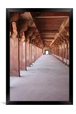 Red Fort India, Framed Print