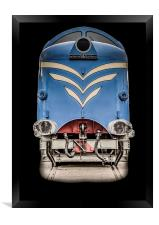 The Protoype Deltic , Framed Print