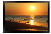 Lossiemouth Sunset, Framed Print