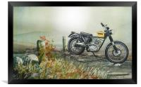 With your triumphs and your charms, Framed Print