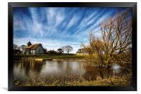 Harty Church Isle of Sheppey Kent, Framed Print