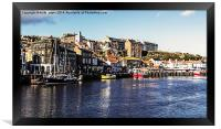 Harbour View Whitby, Framed Print