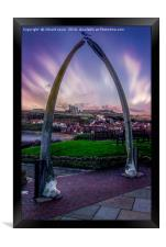 Bone Arch, Framed Print