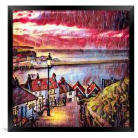 Sweet Whitby, Framed Print