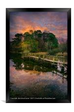 Lakeside Launch, Framed Print