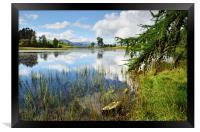 Reflections at Wise Een Tarn, Framed Print