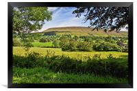 Pendle Hill Lancashire, Framed Print