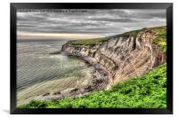 The Cleveland Way, Framed Print