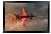 Red Arrows - Opposition Pass, Framed Print