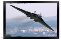 Avro Vulcan - Dawlish Air Show 2015, Framed Print