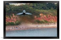 Eurofighter Typhoon - Fast and Low, Framed Print
