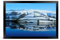 Winter Reflections at Ladybower, Framed Print