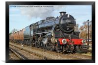 45305 at Quorn & Woodhouse, Framed Print