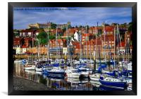 Whitby Harbour, North Yorkshire, Framed Print