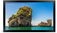 Phang Nga Bay, Framed Print