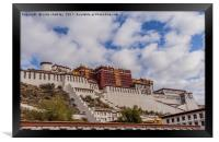 The Potala Palace in Tibet, Framed Print