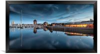 River Tawe and Swansea Marina, Framed Print