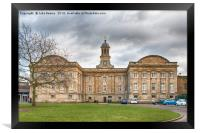 York Castle Museum, Framed Print