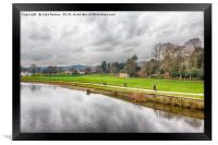 Saltaire Canals, Framed Print