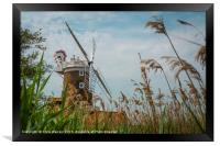 Cley Windmill Cley next the Sea Norfolk England , Framed Print