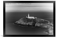 The South Stack Lighthouse, Framed Print