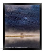 Scotch Mist., Framed Print