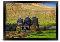 Admiring the view, Framed Print