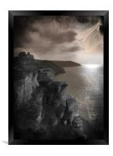 Spirits of Valley of The Rocks, Framed Print