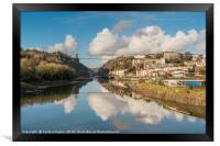 Clifton Suspension Bridge Reflected, Framed Print