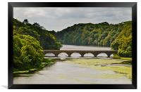 Eight Arch Bridge, Framed Print